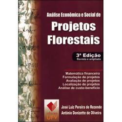 Análise econômica e social de proj. florestais