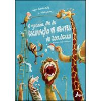 O grande dia escovação dentes zoológico