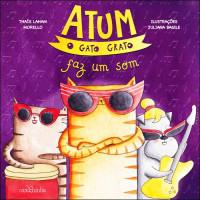 Atum, o gato grato faz um Som