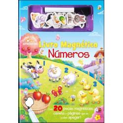 Livro Magnético Números