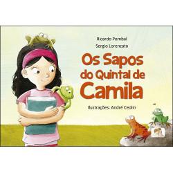 Os sapos do quintal de Camila